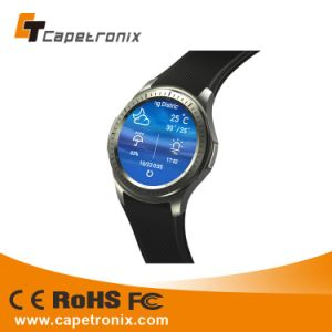Hot Selling Mobile Cell Phone Watch Waterproof SIM Card 3G Bluetooth Silicone Smart Watch