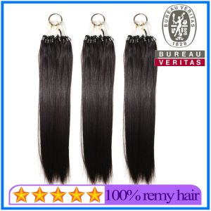 Black Loop Ring Hair Extension pictures & photos