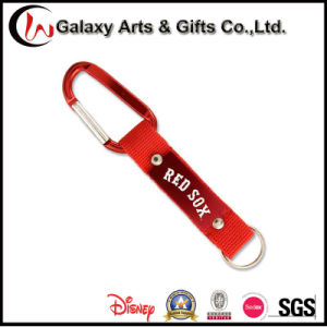Custom Polyester Carabiner Keychain pictures & photos