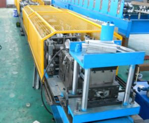 Hydraulic Cutting PLC Panasonic Door Frame Cold Roll Forming Machines pictures & photos