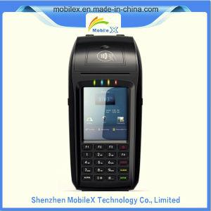 Mobile POS Terminal with Printer, 2D Barcode Scanner, Finger Print pictures & photos
