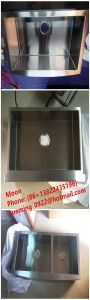 Stainless Steel Handmade Sink, Apron Farmhouse Sink with Cupc Certificate pictures & photos