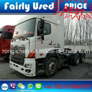 2016 Used Hino 700 Tractor Truck of 6X4 Truck Head
