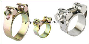 Zinc Plated Steel Robust Hose Clamp pictures & photos
