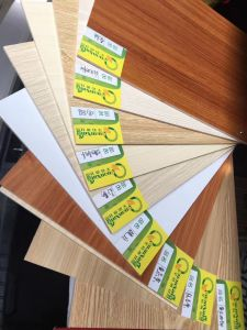 Low Price Color Laminated Lowes 12mm 18mm Marine Plywood for Boats pictures & photos