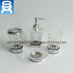 Luxury Bathroom Hardware Soap Dish with Glass pictures & photos