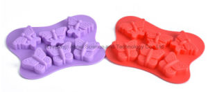 Hot Sale Butterfly Cake Tool Silicone Chocolate Mold Si24 pictures & photos