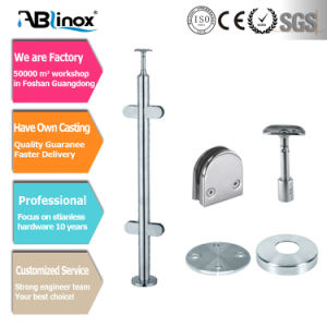 Stainless Steel Balustrade Railing System Handrail (DD037) pictures & photos