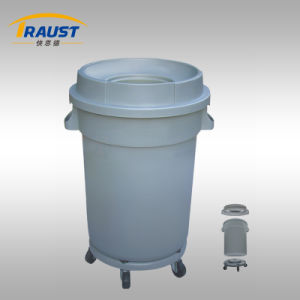 Wholesale Plastic Trash Cans with Wheelie/Mobile Garbage Bin Plastic pictures & photos