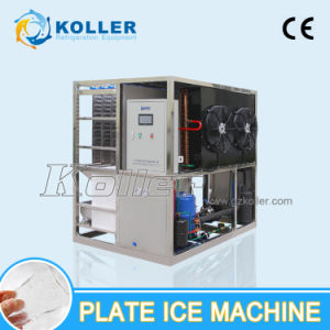 CE Approved 1000kg / Day Plate Ice Making Machine Price for Daily Use pictures & photos