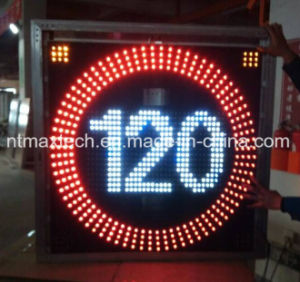 Solar Powered Variable Traffic Speed Sign pictures & photos