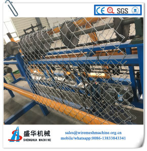 Galvanized Wire Chain Link Fence Machine (SH-N) pictures & photos