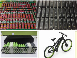 36V 17.5ah Hl01 Lithium Battery for Electric Bike by 10s5p pictures & photos