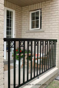 Chinese Aluminum Railing Prices / Galvanized Steel Aluminium Balcony Railing pictures & photos