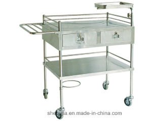 Sjt017 Dressing and Medicine Change Cart pictures & photos