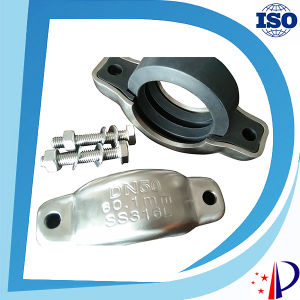 Assembly Metal Pipe Clamp Fitting Hydraulic Heavy Duty Coupling pictures & photos