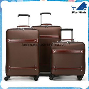 PU Universal Wheel Trolley Suitcase Business Travel Case pictures & photos