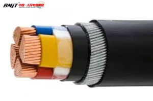 0.6/1kv PVC Insulated Steel Tape Armored Flame Retardant Power Cable pictures & photos