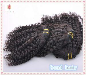 Brazilian Virgin Kinky Curly Hair Exension pictures & photos