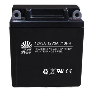 VRLA Motorcycle Battery 12V 3ah with CE UL Certificate pictures & photos