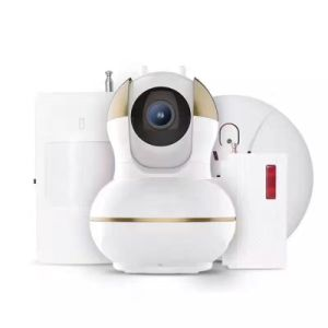 WiFi Video Security Alarm IP WiFi Camera with Smoke Detector PIR Sensor Door Sensor pictures & photos