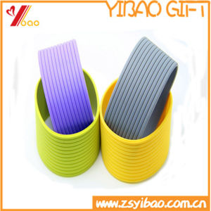 Hot Sale Silicone Heat-Insulation Coffee Cup Cover (YB-AB-028) pictures & photos