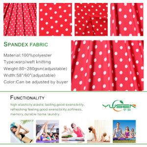 4 Way Stretch Matte Screen Printing Polyamide Spandex Fabric for Bikini Sportswear pictures & photos