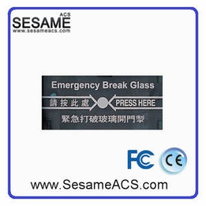 No Nc COM Emergency Break Glass Door Release Without Cover (SAYellow) pictures & photos