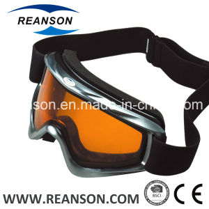 Reanson Youth Double Lenses Anti-Fog Snow Goggles pictures & photos