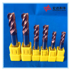 Tungsten Carbide Square Ball Nose End Mills pictures & photos