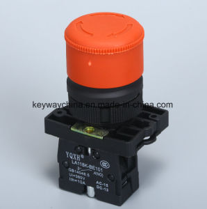 Emergency Mushroom Push Button Switch with Red/Green pictures & photos