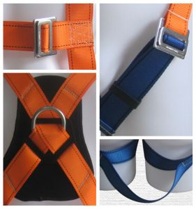 30kn Back Support 3-Point Safety Belt Construction Harness pictures & photos