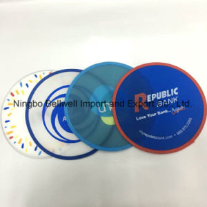 Factory Diect Nylon Printed Foldable Frisbee with Pouch pictures & photos