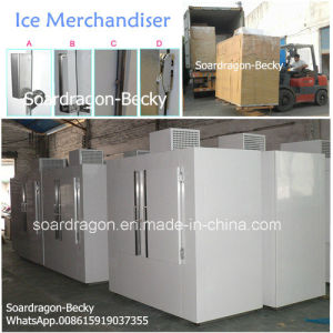 Deep Freezer Ice Merchandiser with Different Handles Optional pictures & photos