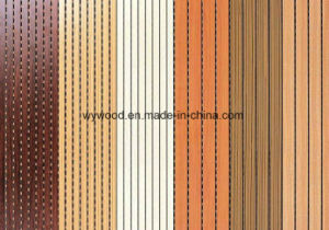 Grooved Acoustic Panels for Walls pictures & photos