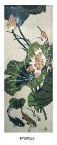 Wall Art Stone Glass Mosaic Art Pattern Tile Tile (FYSP020) pictures & photos