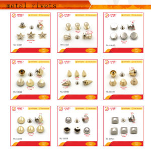 Jinzi Bag Accessories New Products Rivet Series Metal Double Rivets pictures & photos