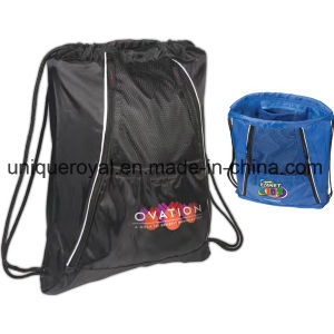 210 Denier Polyester Multi-Pocket String-a-Sling Backpack pictures & photos