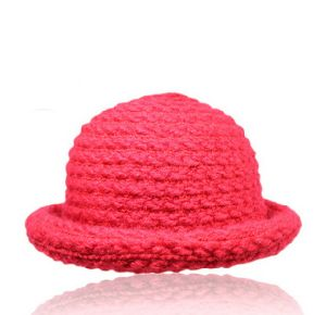 Women′s Wool Knitted Cloche Hat pictures & photos