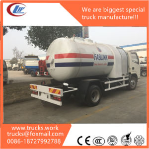 5500L Rhd LHD Mini LPG Tank Truck with LPG Dispenser pictures & photos