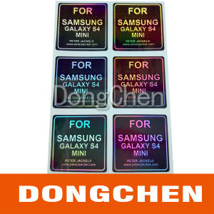Custom Rainbow Color 3D Hologram Laser Security Sticker pictures & photos