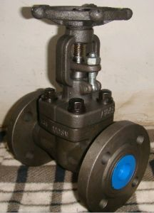 . Y-Type Forged Steel Bw Ends Gate Valve pictures & photos