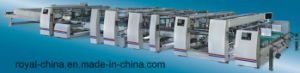 High Speed Full Automatic Twin Box Folder Gluer Machine with ISO9001 pictures & photos