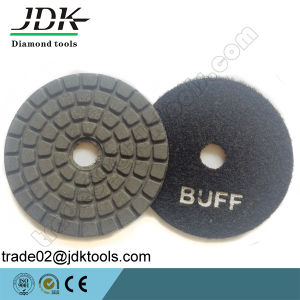 4 Inch Diamond Buff Polishing Pad pictures & photos