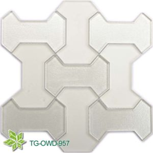 Resin Mix Stone Glass Mosaic Tile (TG-OWD-957) pictures & photos