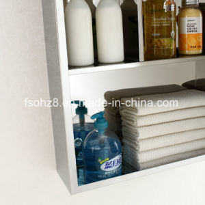 Fashion Stainless Steel furniture Bathroom Mirror Cabinet with Mirror (7028) pictures & photos