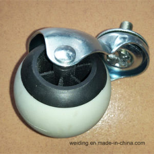 Plastic PVC Ptr Furniture Swivel Caster Wheel pictures & photos