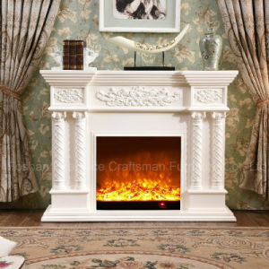 Ce Approved Home Furniture 3D LED sculpture Electrical Fireplace (320S) pictures & photos