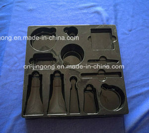Cosmestic Display Black High Quality Blister PS Tray pictures & photos