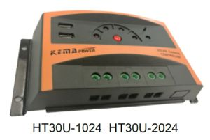 Ht30u Series10A 20A 30A PWM Solar Charge Controller pictures & photos